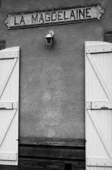 Villemur sur Tarn en noir et blanc #1